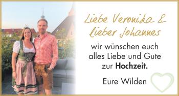Hochzeitsanzeige von Veronika  von NWZ