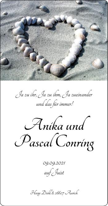 Hochzeitsanzeige von Anika Conring von EZ