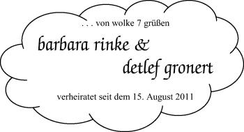 Hochzeitsanzeige von Barabara  von Nordwest-Zeitung