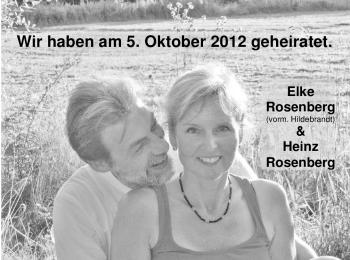 Hochzeitsanzeige von Elke Rosenberg von Nordwest-Zeitung