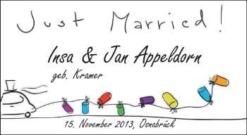 Hochzeitsanzeige von Insa Appeldorn von Nordwest-Zeitung