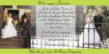 Hochzeitsanzeige von Mareike  Pargmann von Nordwest-Zeitung
