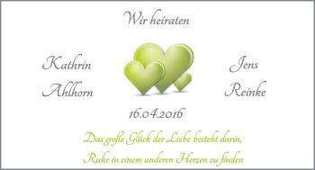 Hochzeitsanzeige von Kathrin Ahlhorn von Nordwest-Zeitung