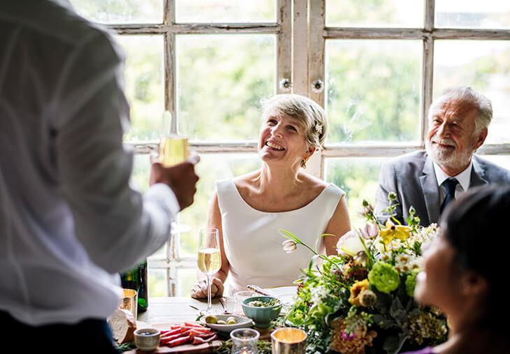 Beispiele hochzeitsrede brautpaar Hochzeitsrede