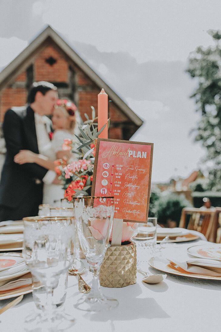 Ablaufplan Fur Eure Hochzeit Erstellen