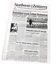Historisches Zeitungsexemplar